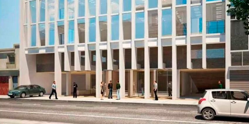 Proyecto Centro de Negocios Uribe de Inmobiliaria Sideris Rentas y Desarrollos Inmobiliarios Spa-1