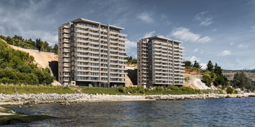 Proyecto Condominio Costa Pingueral - Costa Brava, Dorada de Inmobiliaria ISN-1
