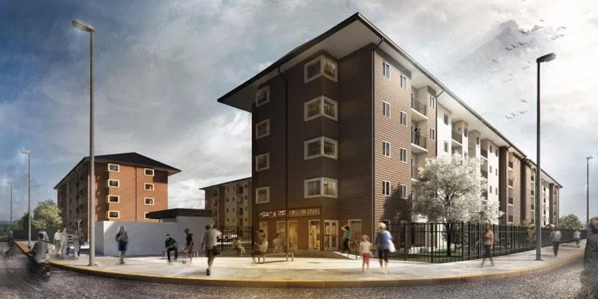 Proyecto Condominio Costamar de Inmobiliaria Icuadra