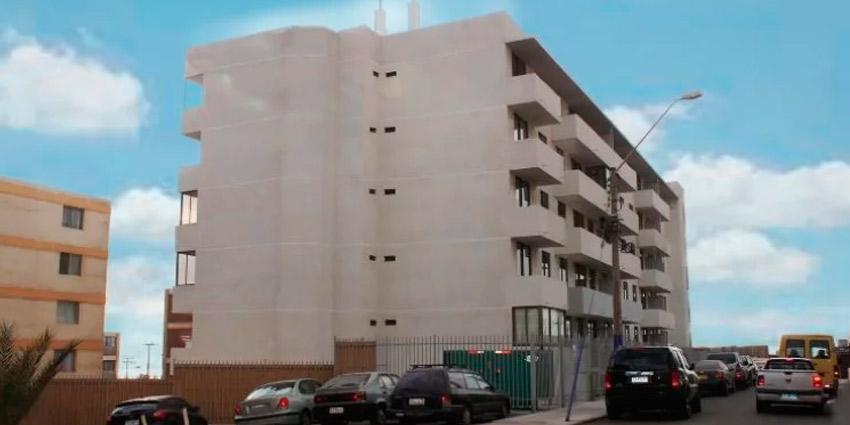 Proyecto Edificio Reumen de Inmobiliaria CONHABIT