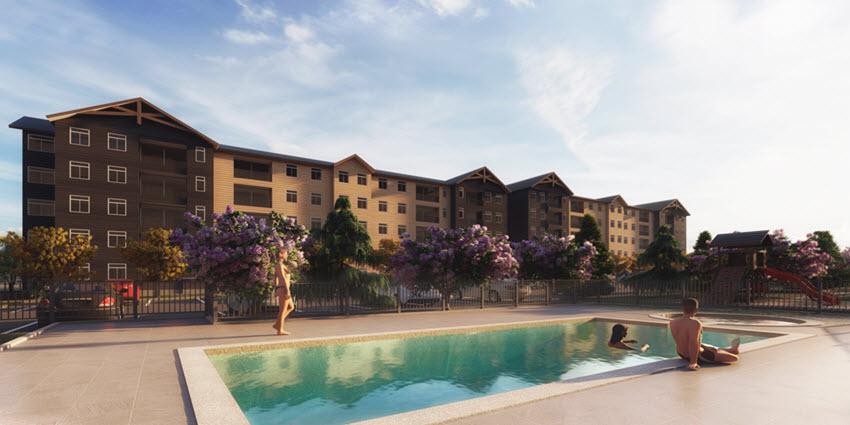 Proyecto Condominio Mirador de Lauquen de Inmobiliaria Icuadra