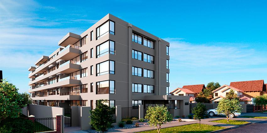 Proyecto Edificio Bureo de Inmobiliaria Ikonnex