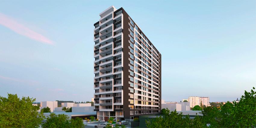 Proyecto Edificio Atelier de Inmobiliaria Nobleza