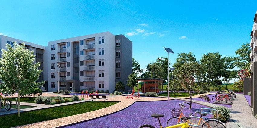 Proyecto Condominio Mirador del Río de Inmobiliaria Aconcagua