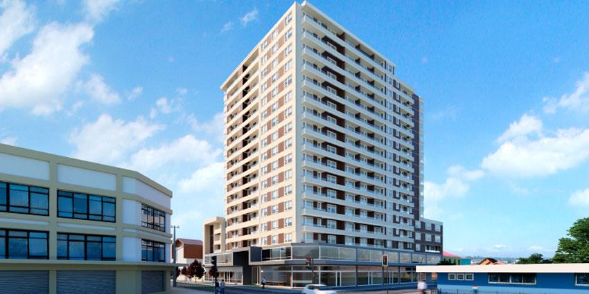 Proyecto Edificio Centro Osorno II de Inmobiliaria Providencia