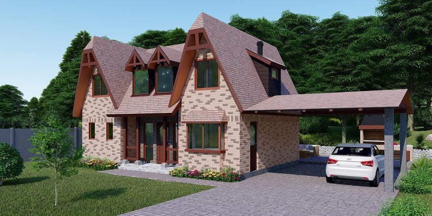 Proyecto Casa Georgian de Inmobiliaria Las Magdalenas