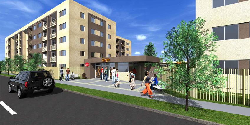 Proyecto Vista de Sor Vicenta de Inmobiliaria Dadelco