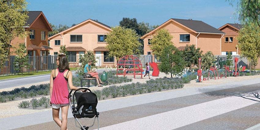 Proyecto Los Clarines VIII de Inmobiliaria PY