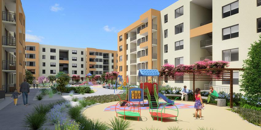 Proyecto Edificio Los Olivos de Inmobiliaria PY