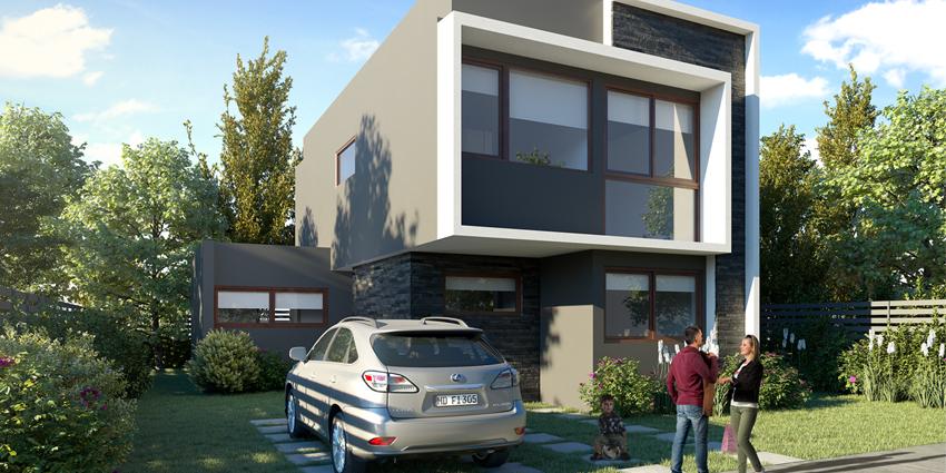 Proyecto Parque la Piedra - Etapa 2 - Casas de Inmobiliaria Madesal