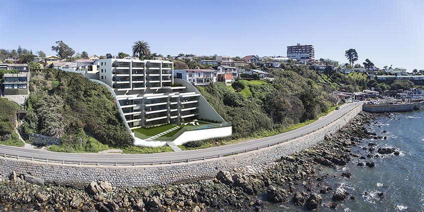 Proyecto Edificio Punta Piedra de Inmobiliaria TREI-1