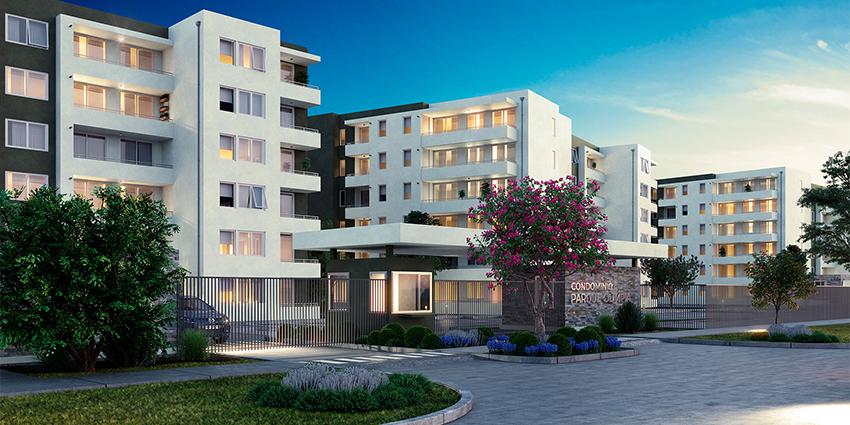 Proyecto Parque Olimpia de Inmobiliaria Socovesa