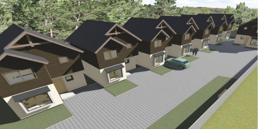 Proyecto Condominio Vista Los Aromos de Inmobiliaria Los Aromos Inmobiliaria