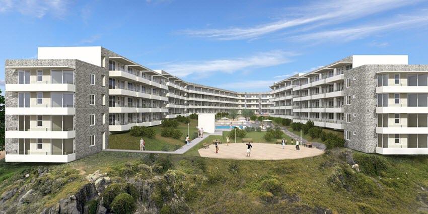 Proyecto Playa Paraíso de Inmobiliaria Ciudad Nueva