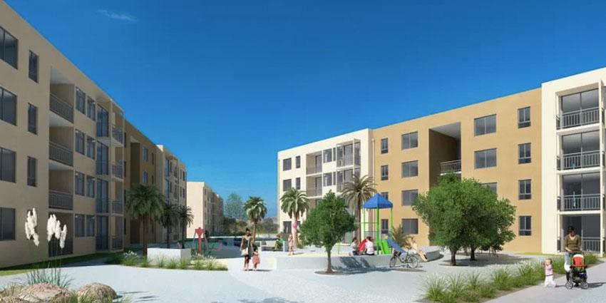 Proyecto Edificio Portal Caldera de Inmobiliaria PY