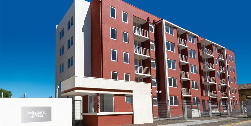 Proyecto Jardín del Sol Poniente de Inmobiliaria Domus