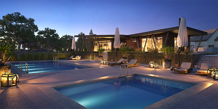 Proyecto Condominio Bosque Laguna de Inmobiliaria Aitue-1