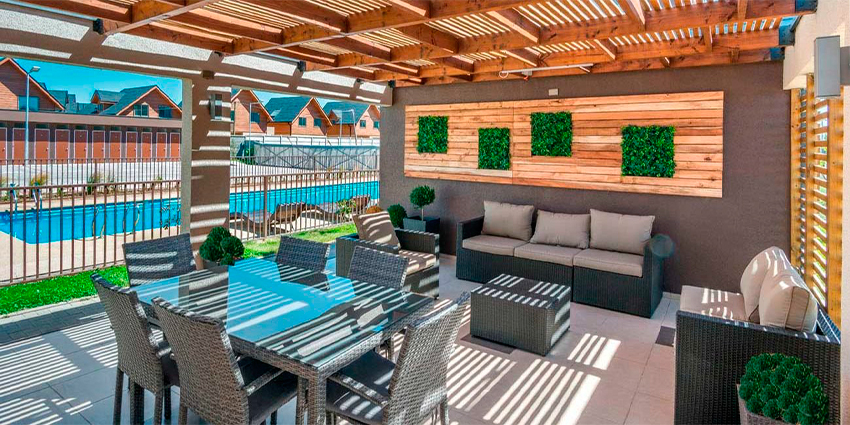 Proyecto Condominio Santa Ana Oriente - El Roble de Inmobiliaria Aitue