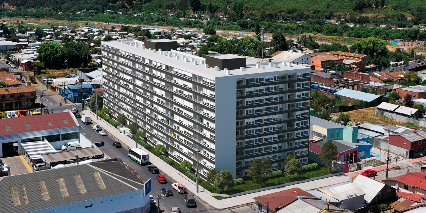 Proyecto Aldunate de Inmobiliaria Maestra