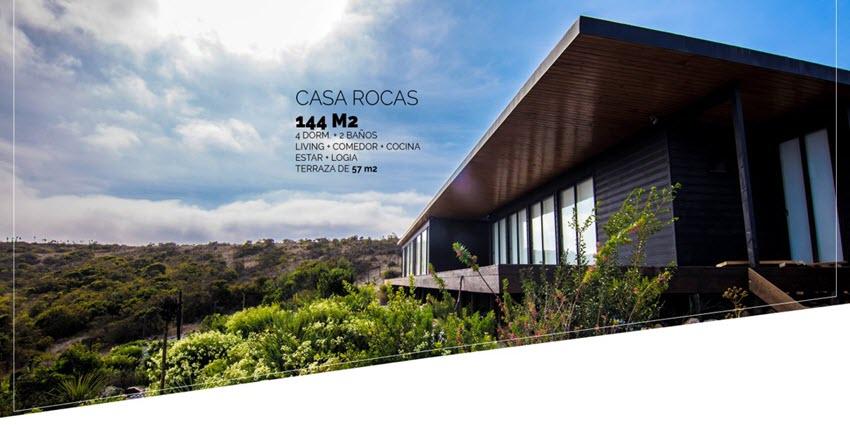 Proyecto Condominio Rocas del Mar - Casas de Inmobiliaria Foresta del Mar-1