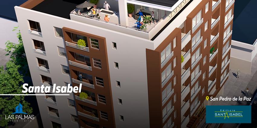 Proyecto Edificio Santa Isabel de Inmobiliaria Las Palmas Inmobiliaria