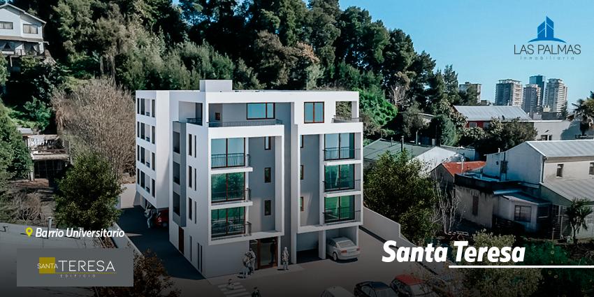 Proyecto Edificio Santa Teresa de Inmobiliaria Las Palmas Inmobiliaria
