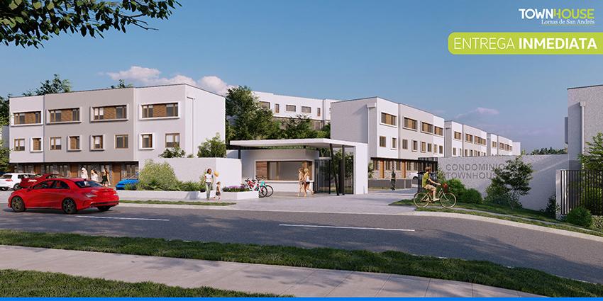 Proyecto Lomas de San Andrés Townhouse de Inmobiliaria Valmar