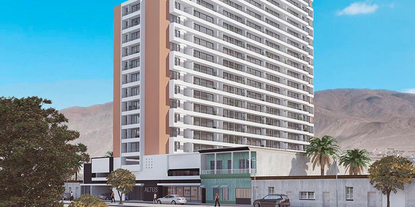 Proyecto Altus de Inmobiliaria SandS Inmobiliaria