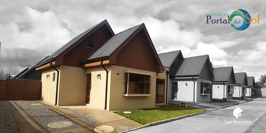 Proyecto Condominio Portal del Sol - Entrega Inmediata de Inmobiliaria Grupo Inmobiliario San Francisco