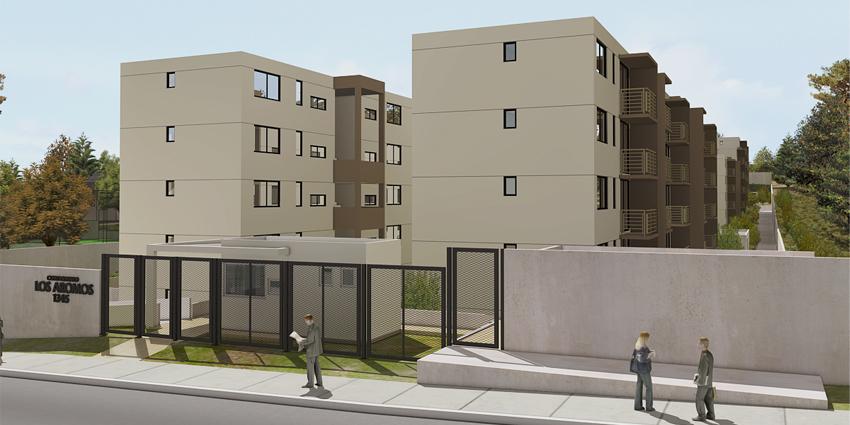 Proyecto Condominio Vista Los Aromos de Inmobiliaria MD2