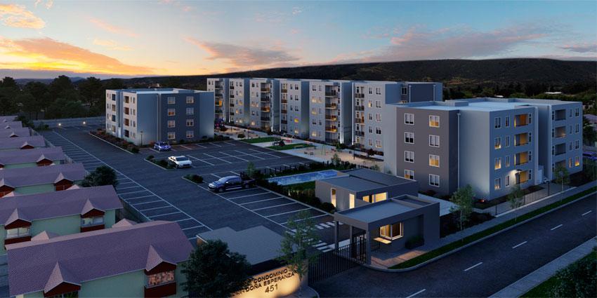 Proyecto Condominio Doña Esperanza de Inmobiliaria Grupo Vive