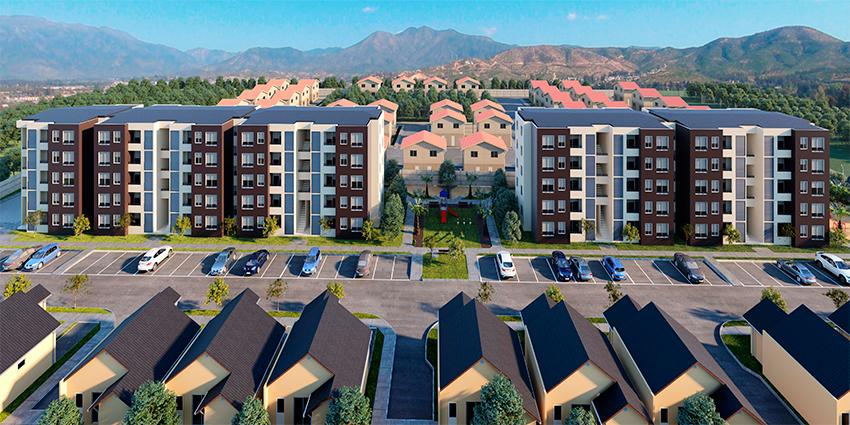 Proyecto Condominio Santa Maria Luisa de Limache de Inmobiliaria Magua