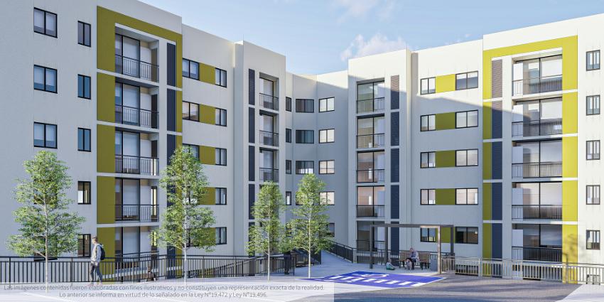 Proyecto Cumbres de Angol de Inmobiliaria Dadelco