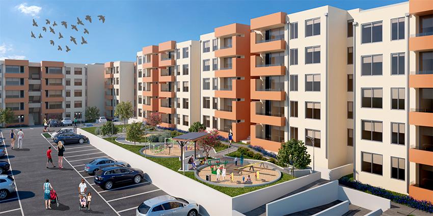 Proyecto Condomino Santa Elena de Inmobiliaria Magua