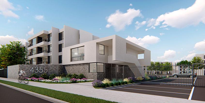 Proyecto Condominio San Luis de Macul de Inmobiliaria Ictinos-1