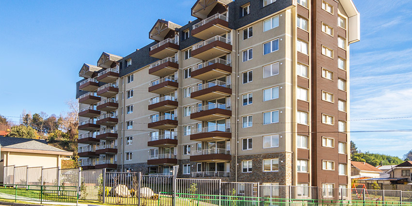 Proyecto Condominio Altos de Villarrica de Inmobiliaria Medina - Widmer y Cía Ltda Inmobiliaria