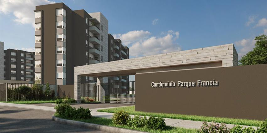 Proyecto Edificios Parque Francia de Inmobiliaria Socovesa