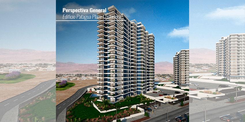 Proyecto EDIFICIO PATAGUA PLAZA COSTANERA de Inmobiliaria Grupo Coloso