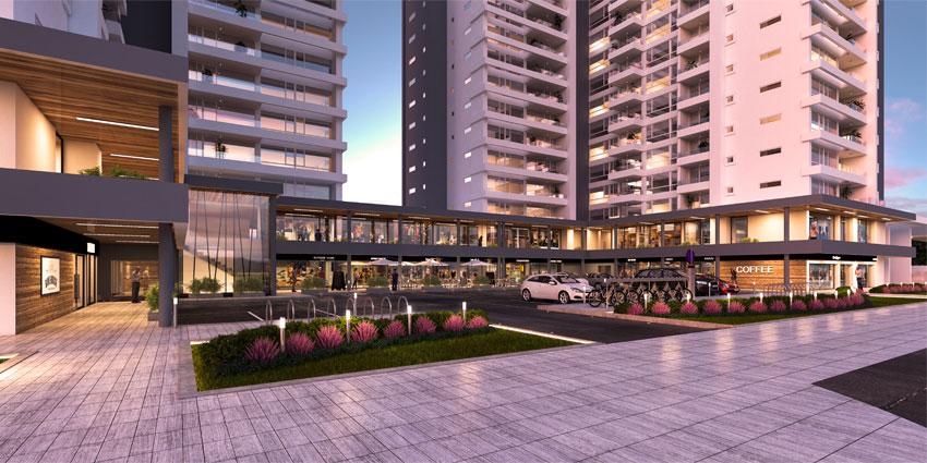 Proyecto Plaza Los Canelos de Inmobiliaria Aitue