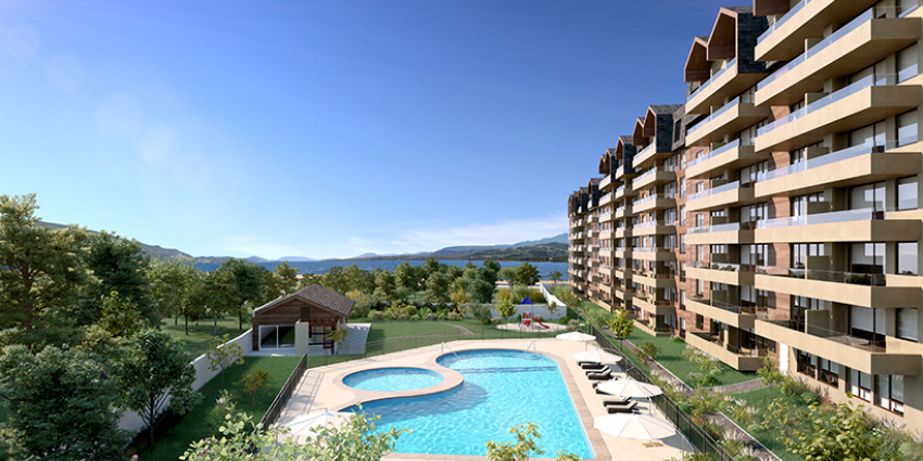 Proyecto Condominio Costanera Playa de Inmobiliaria Providencia