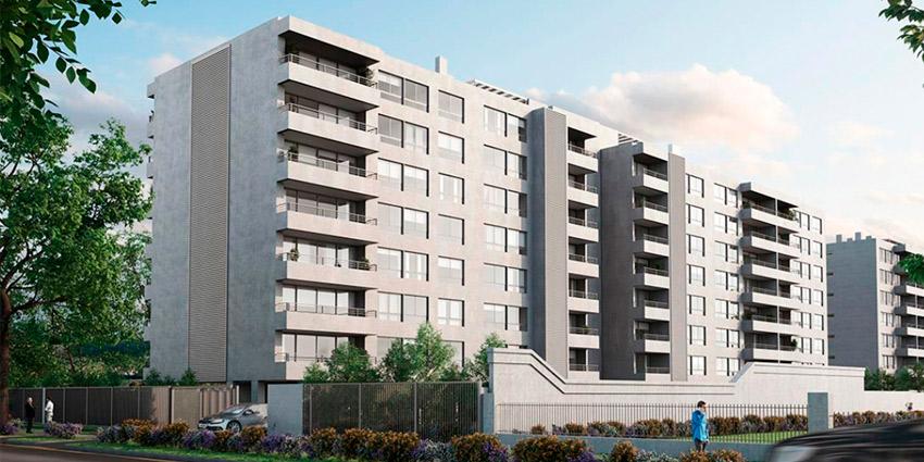 Proyecto Edificio Dublé Almeyda 2621 de Inmobiliaria RVC