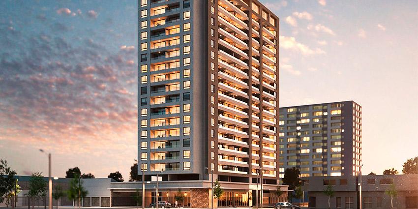 Proyecto Edificio Claro Solar de Inmobiliaria San Isidro Inmobiliaria