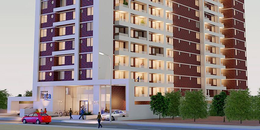 Proyecto Edificio Itata de Inmobiliaria Vellatrix