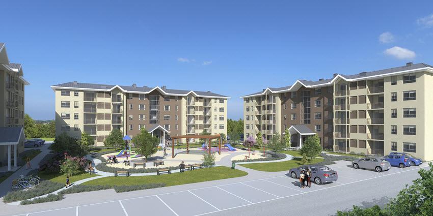 Proyecto Edificio Mirador de la Floresta II de Inmobiliaria PY-1