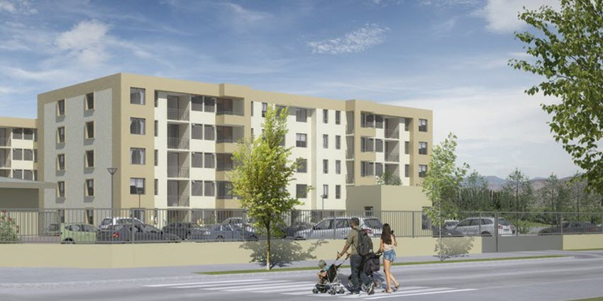 Proyecto Edificio Del Valle de Inmobiliaria PY-2