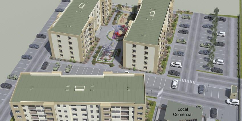 Proyecto Edificio Del Valle de Inmobiliaria PY-5