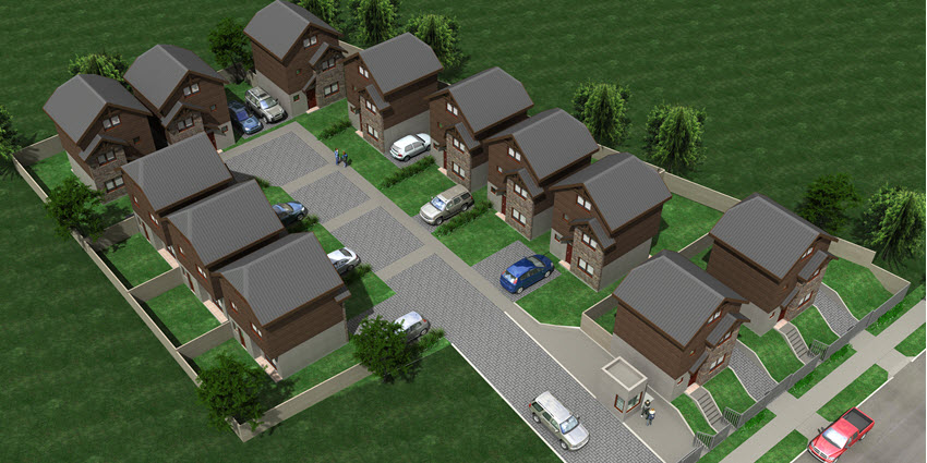 Proyecto Condominio Divina Trinidad de Inmobiliaria Grupo Full House-4